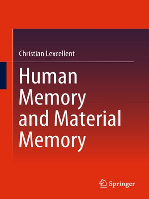 cover image of Human Memory and Material Memory