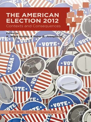 cover image of The American Election 2012