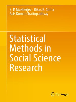 cover image of Statistical Methods in Social Science Research