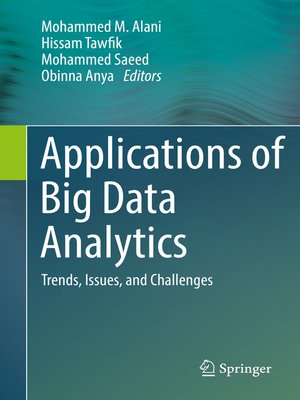 cover image of Applications of Big Data Analytics