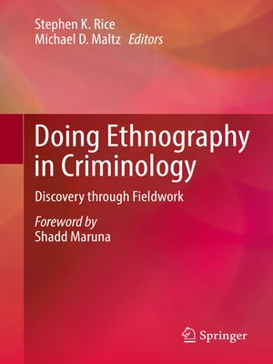 cover image of Doing Ethnography in Criminology