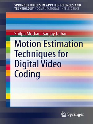 cover image of Motion Estimation Techniques for Digital Video Coding
