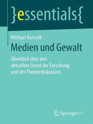 cover image of Medien und Gewalt
