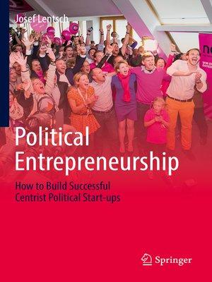 cover image of Political Entrepreneurship
