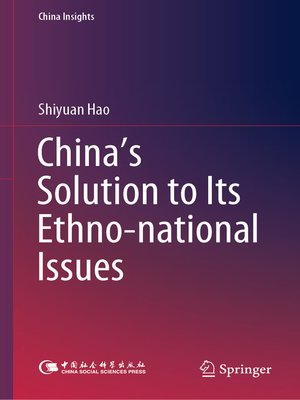 cover image of China's Solution to Its Ethno-national Issues