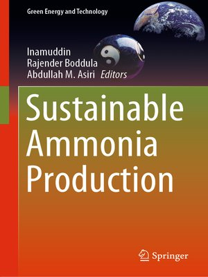 cover image of Sustainable Ammonia Production