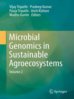 cover image of Microbial Genomics in Sustainable Agroecosystems