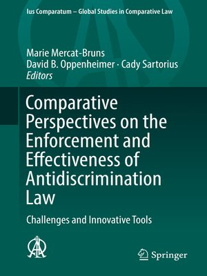 cover image of Comparative Perspectives on the Enforcement and Effectiveness of Antidiscrimination Law