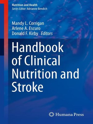 cover image of Handbook of Clinical Nutrition and Stroke