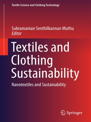 cover image of Textiles and Clothing Sustainability