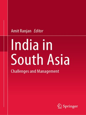 cover image of India in South Asia