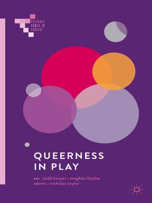 cover image of Queerness in Play