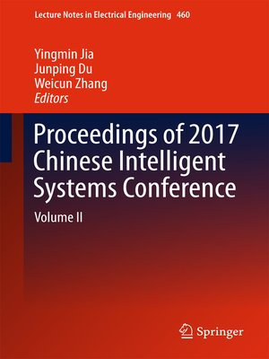 cover image of Proceedings of 2017 Chinese Intelligent Systems Conference