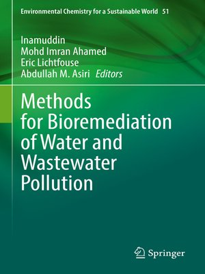 cover image of Methods for Bioremediation of Water and Wastewater Pollution