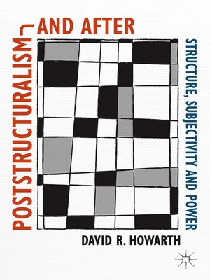 cover image of Poststructuralism and After