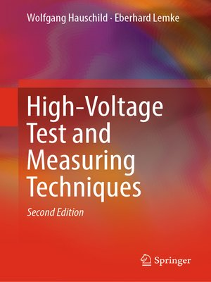 cover image of High-Voltage Test and Measuring Techniques