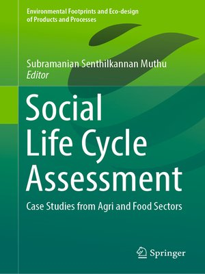 cover image of Social Life Cycle Assessment