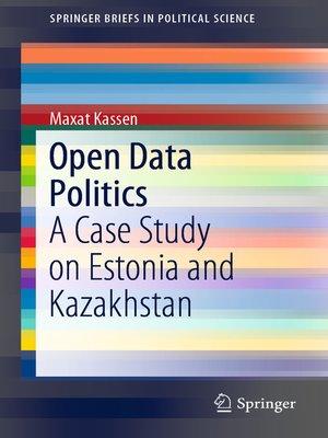 cover image of Open Data Politics