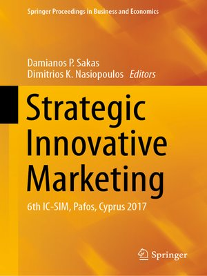 cover image of Strategic Innovative Marketing