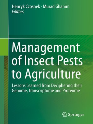cover image of Management of Insect Pests to Agriculture