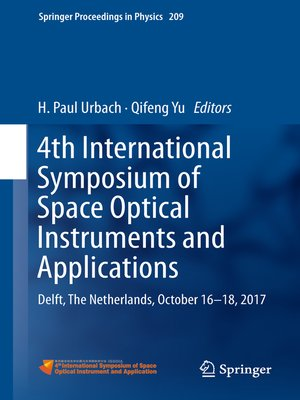 cover image of 4th International Symposium of Space Optical Instruments and Applications