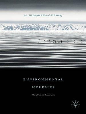 cover image of Environmental Heresies