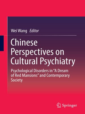 cover image of Chinese Perspectives on Cultural Psychiatry
