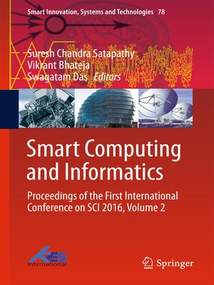 cover image of Smart Computing and Informatics