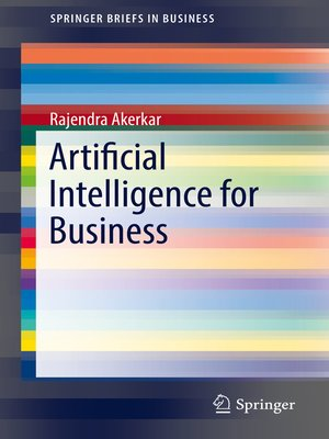 cover image of Artificial Intelligence for Business