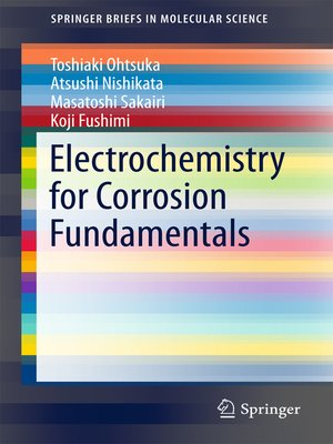 cover image of Electrochemistry for Corrosion Fundamentals