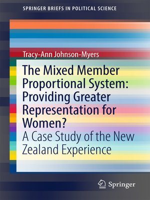 cover image of The Mixed Member Proportional System
