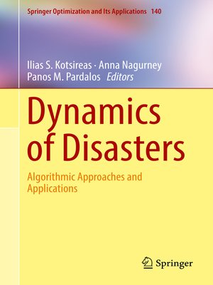 cover image of Dynamics of Disasters