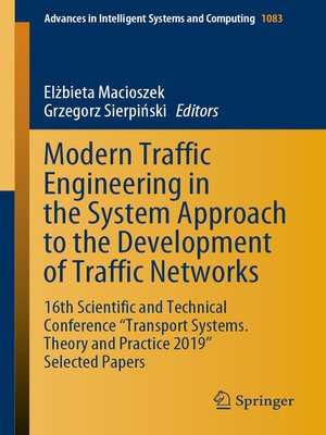 cover image of Modern Traffic Engineering in the System Approach to the Development of Traffic Networks