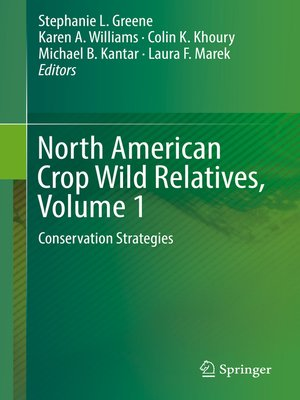 cover image of North American Crop Wild Relatives, Volume 1