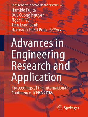 cover image of Advances in Engineering Research and Application