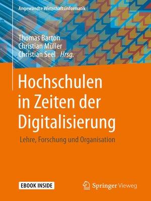 cover image of Hochschulen in Zeiten der Digitalisierung