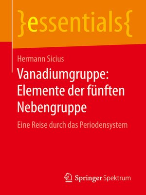 cover image of Vanadiumgruppe
