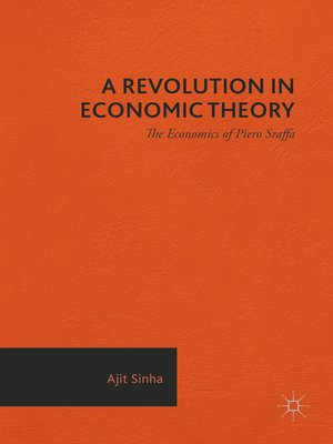 cover image of A Revolution in Economic Theory
