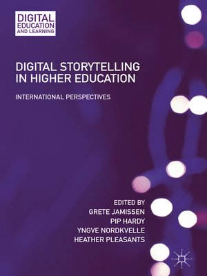 cover image of Digital Storytelling in Higher Education