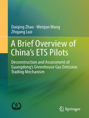 cover image of A Brief Overview of China's ETS Pilots