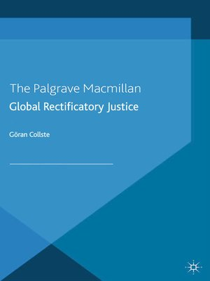 cover image of Global Rectificatory Justice