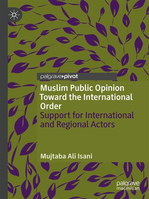 cover image of Muslim Public Opinion Toward the International Order