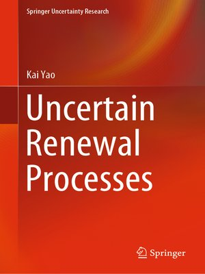 cover image of Uncertain Renewal Processes