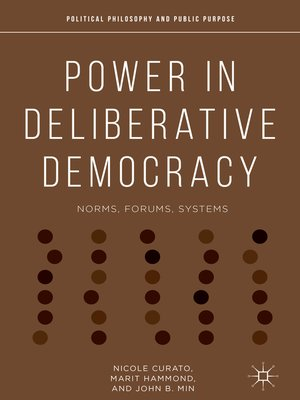 cover image of Power in Deliberative Democracy