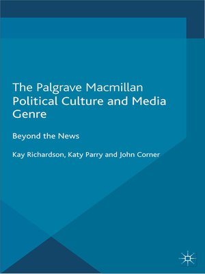 cover image of Political Culture and Media Genre