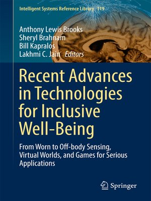 cover image of Recent Advances in Technologies for Inclusive Well-Being