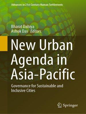 cover image of New Urban Agenda in Asia-Pacific