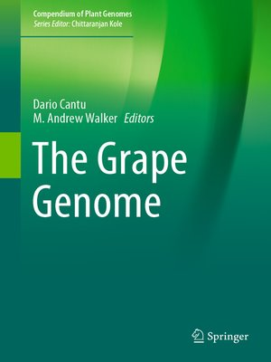cover image of The Grape Genome