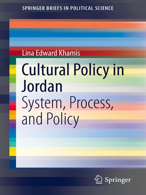 cover image of Cultural Policy in Jordan