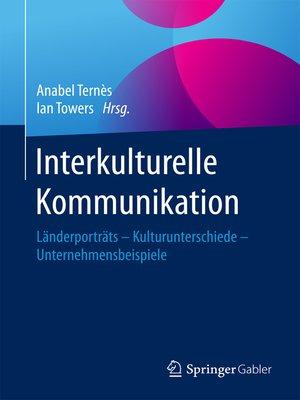 cover image of Interkulturelle Kommunikation